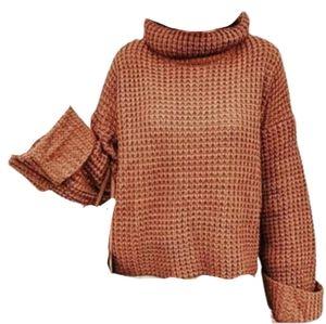 Goodnight Macroon Retta Oversized Cropped Sweater